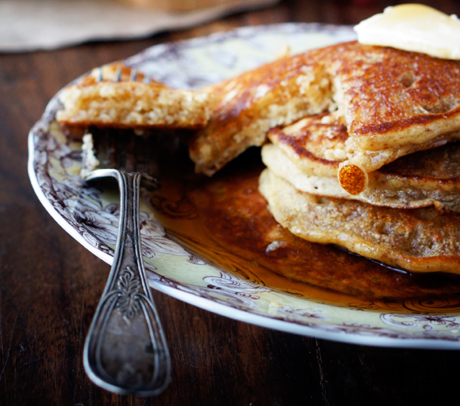 Check out Foodess's tasty sounding pancakes..bringing the weekend brunch to a whole new level!
