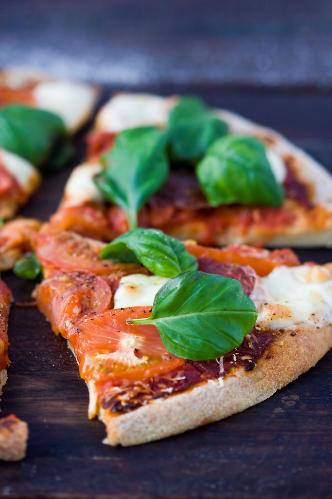 Gluten-free pizza crust for all! Here's a great recipe from Gluten-Free Day.