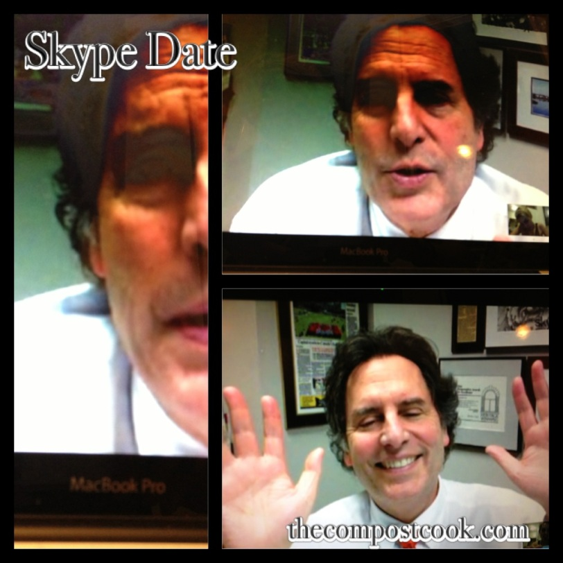 Nothing makes me happier than Skype catch-ups with Dad.