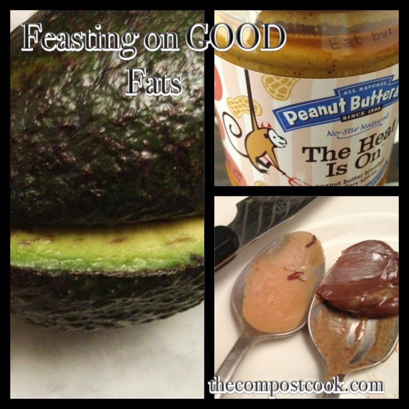 This week/weekend I have been LOVING my good fats. Praise for avocado, PB and nuts:)