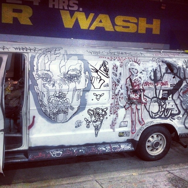 Thursday night's are always art-filled in Chelsea...vehicles are no exception.